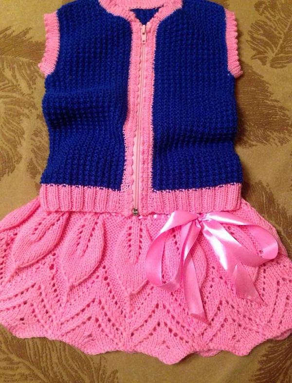 Вязание для девочек костюмы 77