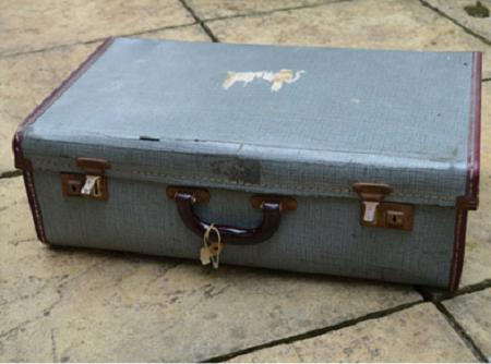 chemodan_decoupage_zagotovka Декупаж чемодана является модным hand-made направлением